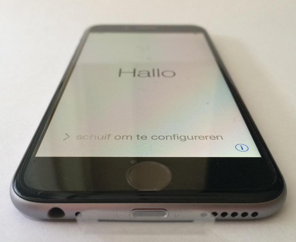 айфон 6 серый космос фото