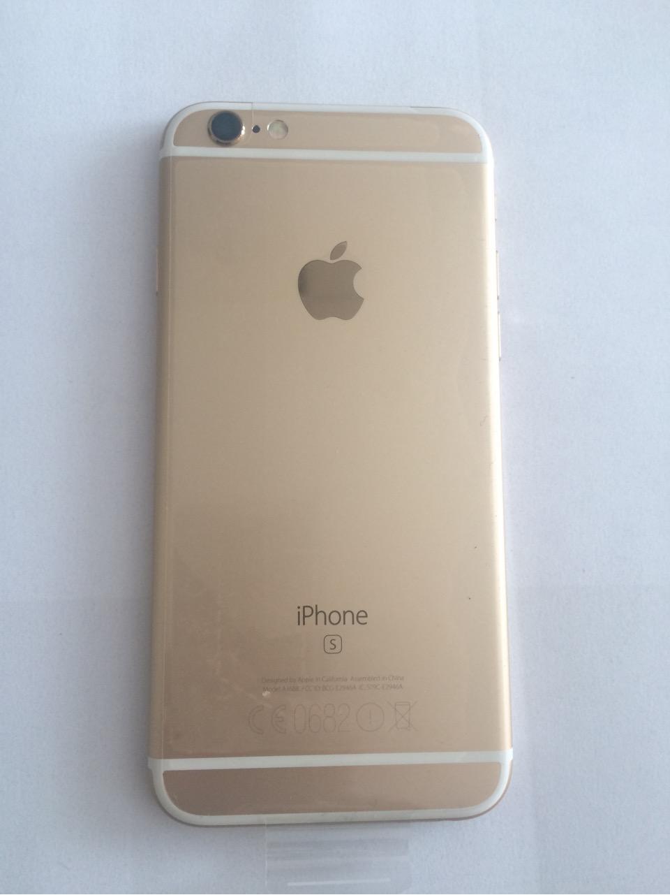 фото золотой айфон 6s